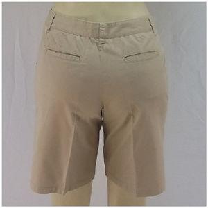 Shorts - Flat Front Walking Shorts, size 6